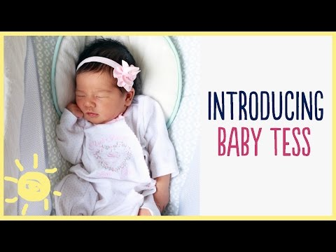 ELLE | Introducing Baby Tess!