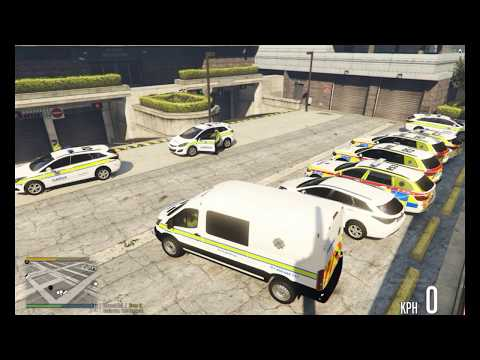 Irish Emergency Service RPC Patrol 20 ( New Unmarked Cars)