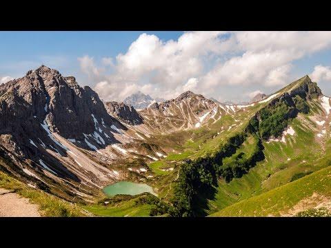 Klettersteig Lachenspitze : Klettersteig lachenspitze 2016 hd youtube