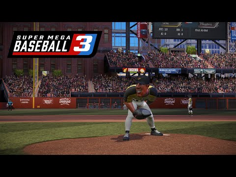 Super Mega Baseball 3 - Gameplay Trailer