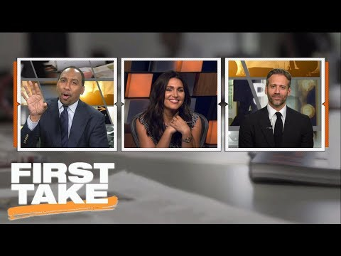 Stephen A. and Max hilariously debate Tom Brady's injury   First Take   ESPN