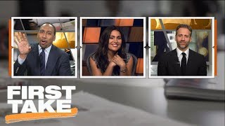 Stephen A. and Max hilariously debate Tom Brady's injury | First Take | ESPN