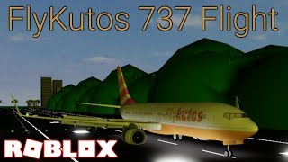 FlyKutos 737 Flight + How to ally with Wyanair on Roblox