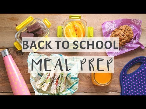 EASY MEAL PREP WITH ME! | Healthy Meal Prep For BACK TO SCHOOL