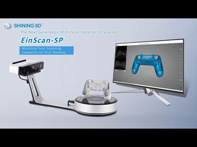 EinScan-SP 3D Scanner Tutorial - SHINING 3D - V-GER