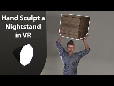 Sculpt Furniture In VR For Your Renderings - Oculus Medium Adobe