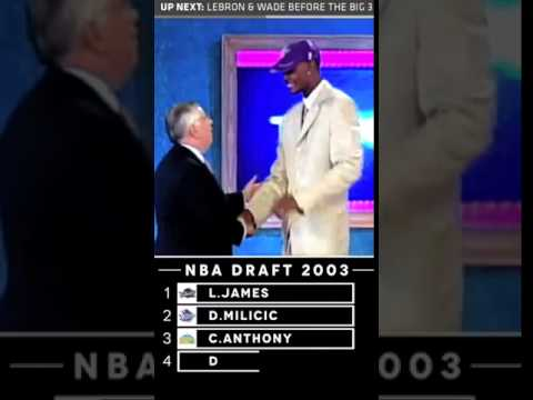 NBA DRAFT PICKS OF 2003 Top