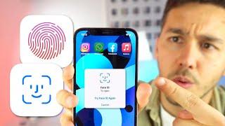 Como BLOQUEAR aplicaciones en iPhone con Touch ID, Face ID o Contraseña 🔓 screenshot 3