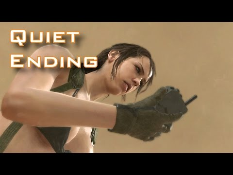 MGSV: TPP - Episode 45: A Quiet Exit - Quiet Story ENDING MUST WATCH