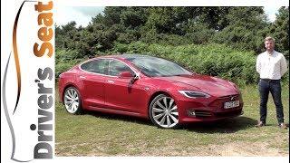 Video Tesla Model S 2017 Review | Driver's Seat download MP3, 3GP, MP4, WEBM, AVI, FLV Mei 2018