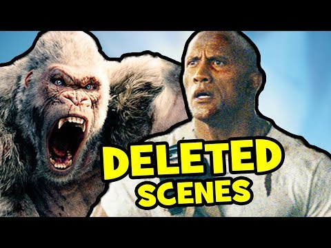 Rampage DELETED S, PostCredits  & Alternate Ending