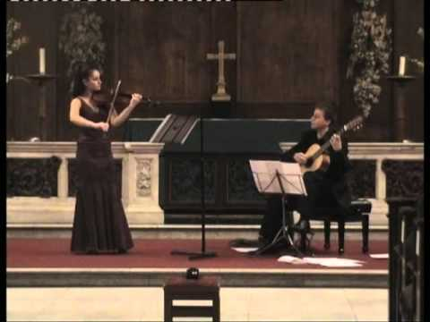 Nazrin Rashidova and Stanislav Hvartchilkov | W.A. MOZART - Duo in G, K. 423 (arr. Eliot Fisk)