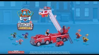 PAW Patrol | Ultimate Fire Truck | TV Commercial UK