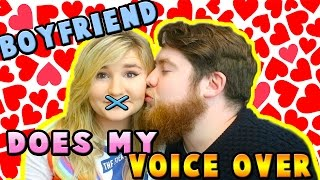 Kelly & Carly Vlogs : LITTLE KELLYS BOYFRIEND DOES HER VOICE OVER | Get Ready With Me