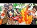 Hihahe Nerf War: SWAT & Troops Force Nerf Guns Bandits Group Rescue Teammate Nerf