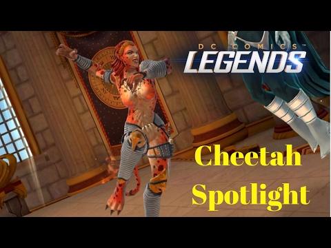 DC Legends: Cheetah Spotlight