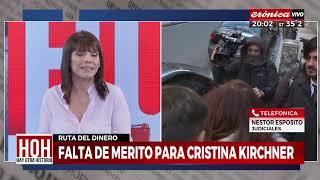Falta de mérito para Cristina Kirchner