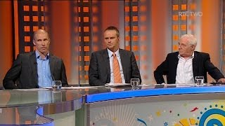 Dunphy and Cunningham disagree on England   RTÉ Soccer