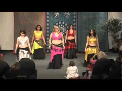 The Nightingales perform Harem