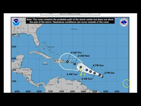 Hurricane Jose New TS Lee And soon to be named Maria Report