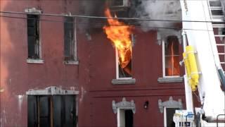 Fire at former Belvedere orphanage