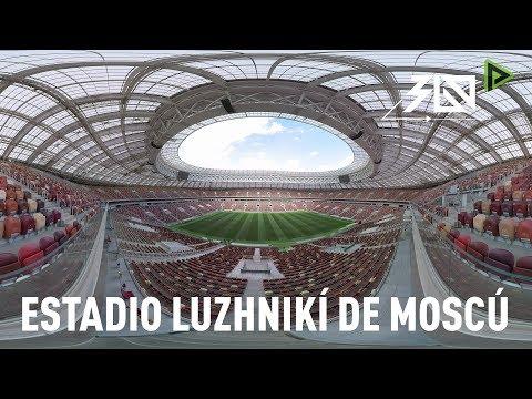 Mundial Rusia 2018: Estadio Luzhnikí de Moscú EN 360º