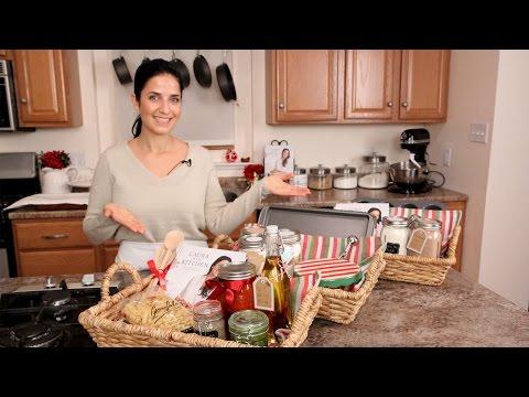 3 DIY Food Gift Baskets - Edible Gifts