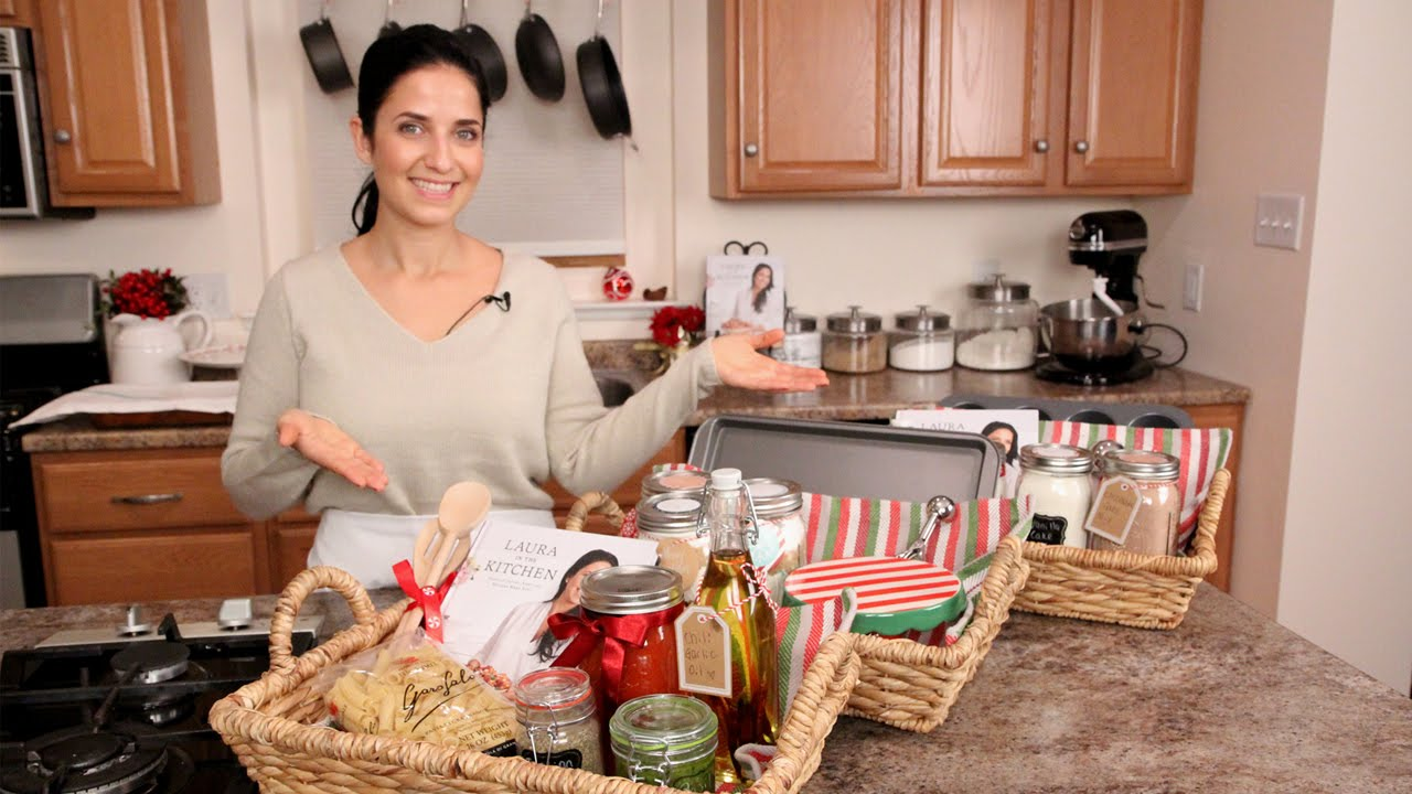 3 DIY Food Gift Baskets - Edible Gifts - YouTube