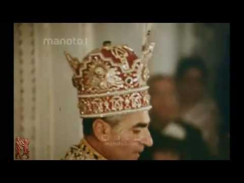 Farah Diba Pahlavi Crown Coronation