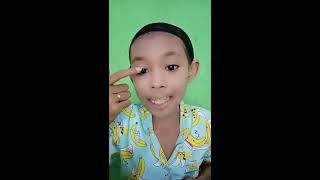 VIRAL Tutorial Make Up Biru Syahdu Mendayu By Bunga Salsabila