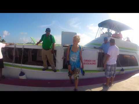 The travel to Belize/ Douglas dahlin/ San pedro