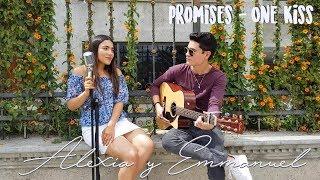 Promises / One Kiss - Calvin Harris ft. Sam Smith ft. Dua Lipa | Cover Alexia y Emmanuel