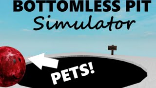 GETTING V.I.P ON BOTTOMLESS PIT SIMULATOR - ROBLOX
