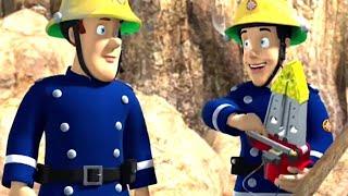 Sam el Bombero Español 🌟Rescate en la playa | Compilación divertida 🔥Dibujos animados