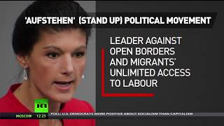 Left 2.0: Wagenknecht launches 'Stand Up' movement against German establishment