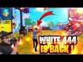 WHITE 444 IS HACKER 😭  FREE FIRE BATTLEGROUND