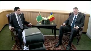 STIRIPESURSE.RO Klaus Iohannis intalnire cu dictatorul Gurbangulî Berdâmuhamedov