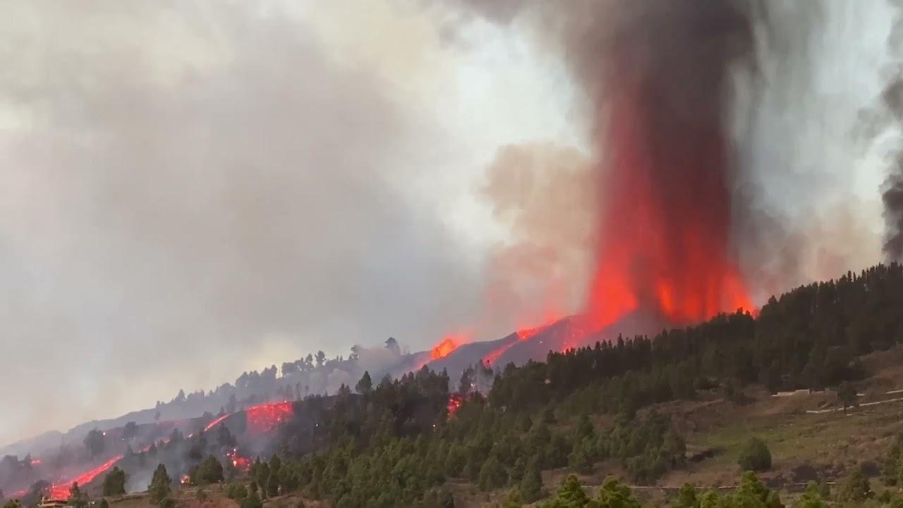 إجلاء 5000 شخص بعد ثوران بركان في جزر الكناري الإسبانية  - نشر قبل 14 دقيقة