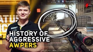 From Pasha to S1mple: The Evolution of Aggressive AWPers in CS:GO