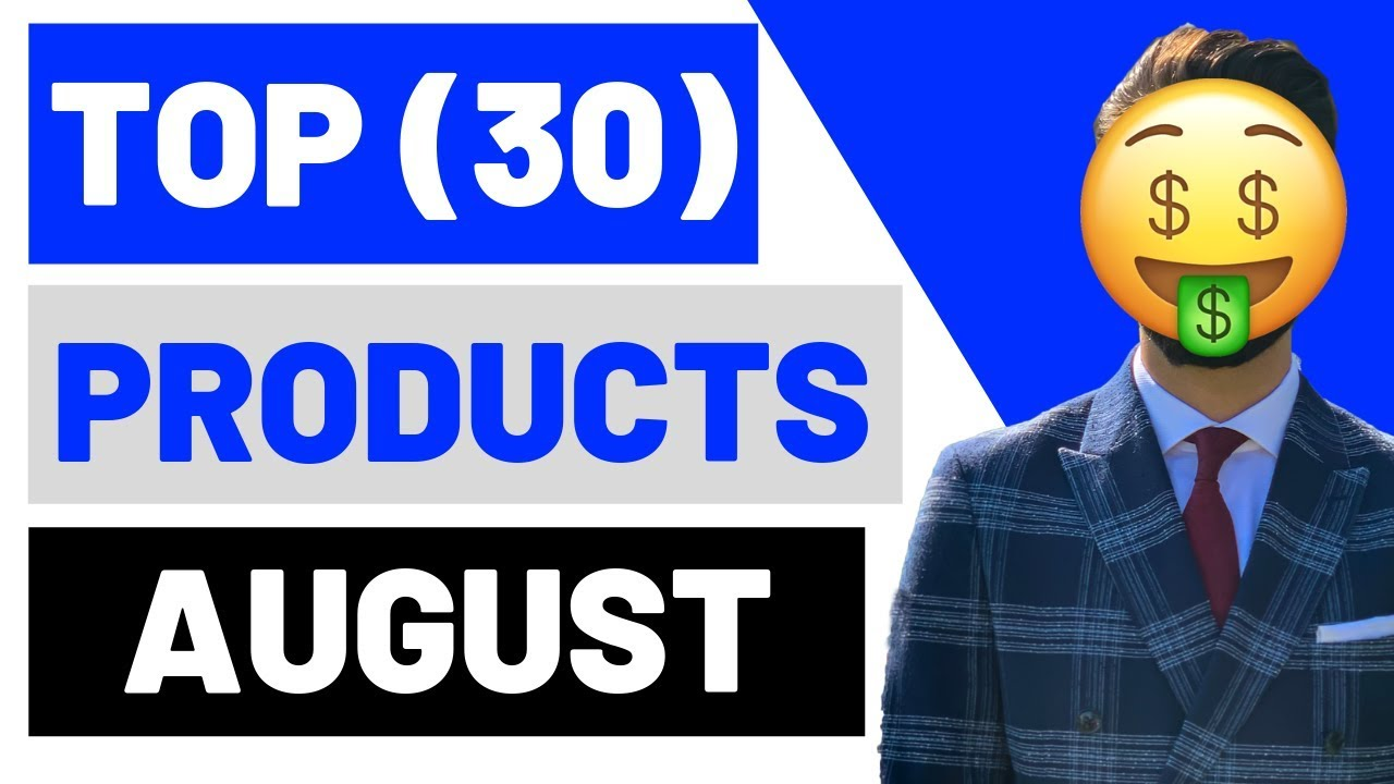 TOP (30) WINNING Products In AUGUST 2019 Shopify Dropshipping