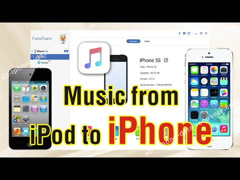 How to Copy Music from iPod to iPhone 76S Plus6S  Freely