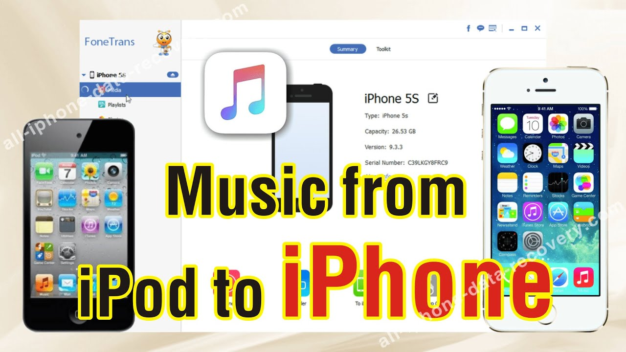how to transfer music from iphone to ipod how to copy from ipod to iphone 7 6s plus 6s freely 21087