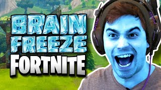 FORTNITE BRAIN FREEZE CHALLENGE