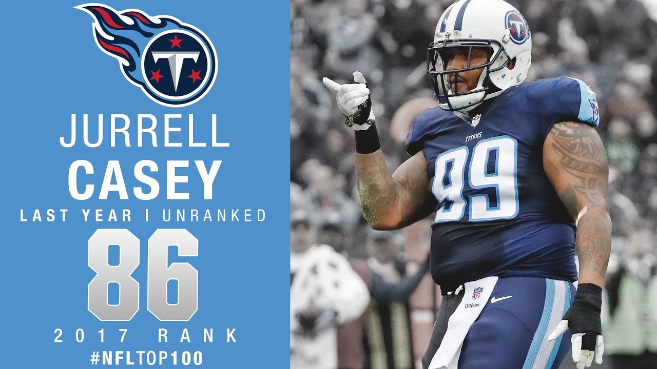 86 Jurrell Casey DT Titans Top 100 Players of 2017