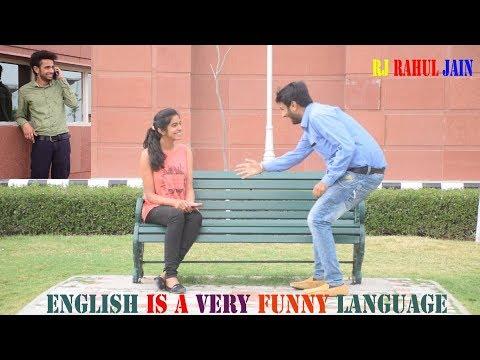 ENGLISH IS A VERY FUNNY LANGUAGE    RJ RAHUL JAIN
