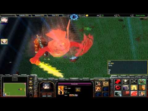 Zapaříme CZ - Let's play - Warcraft 3 - Naruto Battle Royal Díl. 8