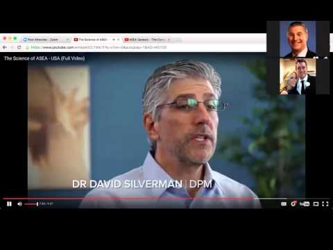 ASEA Zoom Presentation with Dr Foster Malmed and Dr Joe Labriola 4/14/16