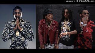 Meek Mill - Contagious feat Migos (INSTRUMENTAL) Mashed Drake Fake Love Type Beat | Free Type Beat