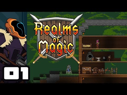 Let's Play Realms of Magic - PC Gameplay Part 1 - 100% Business, 100% Lizard