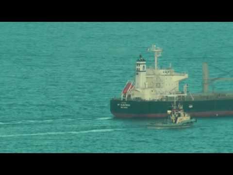 Timelapse KP ALBATROSS IMO 9552367 V7IQ2 MARSHALL ISLANDS GIJON HD